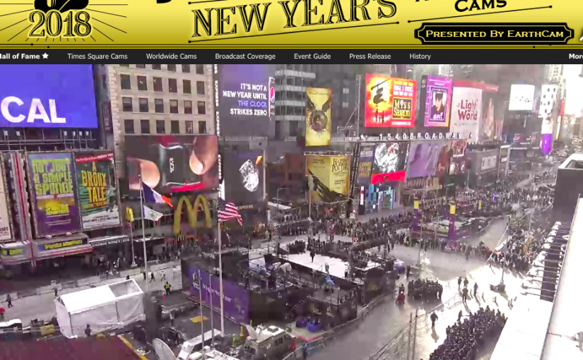 Stream the New Year's Eve Ball Drop- Live
