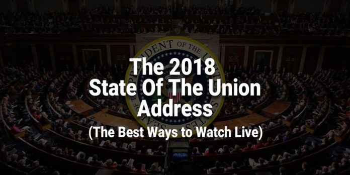 Watch the 2018 State of the Union Address Live