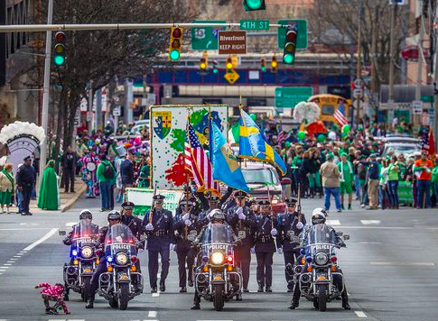 Wilmington Delaware's 2018 Saint Patrick's Day Parade