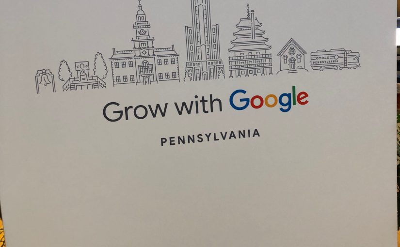 "York, PA hosts a ""Grow with Google"" Workshop"