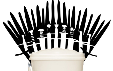 "People are Turning their Toilets into ""Thrones"", Literally."